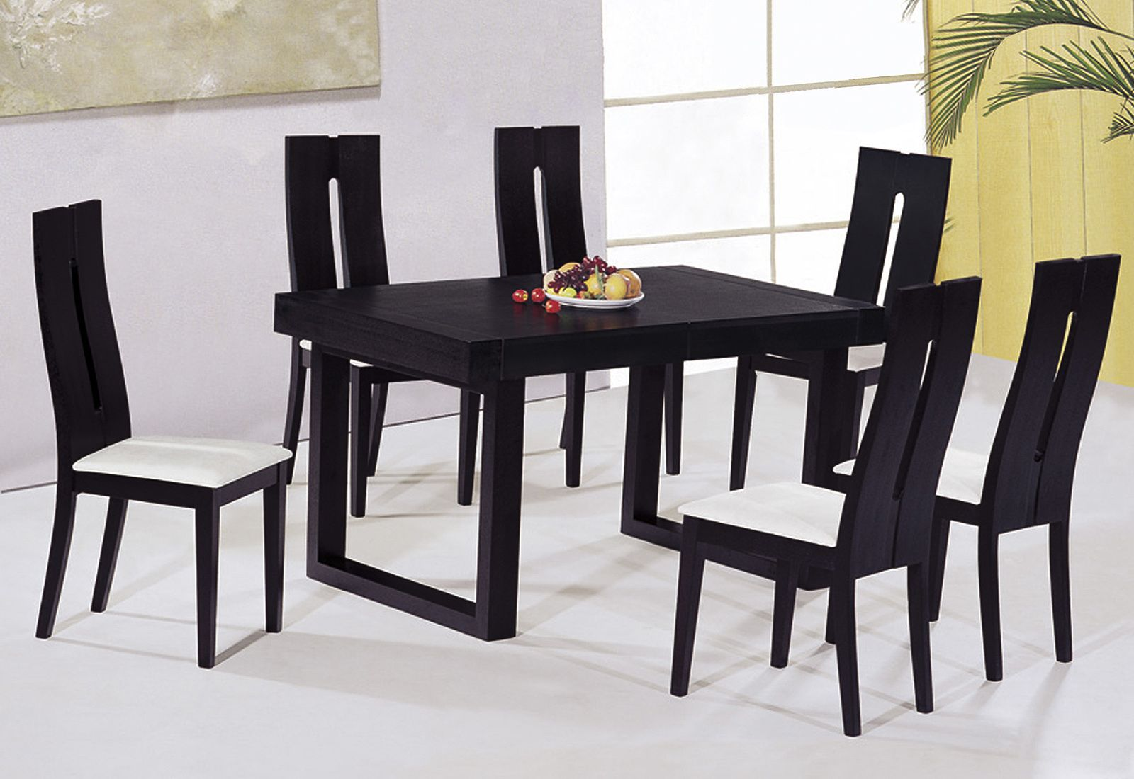 23++ Black dining table and chairs Ideas