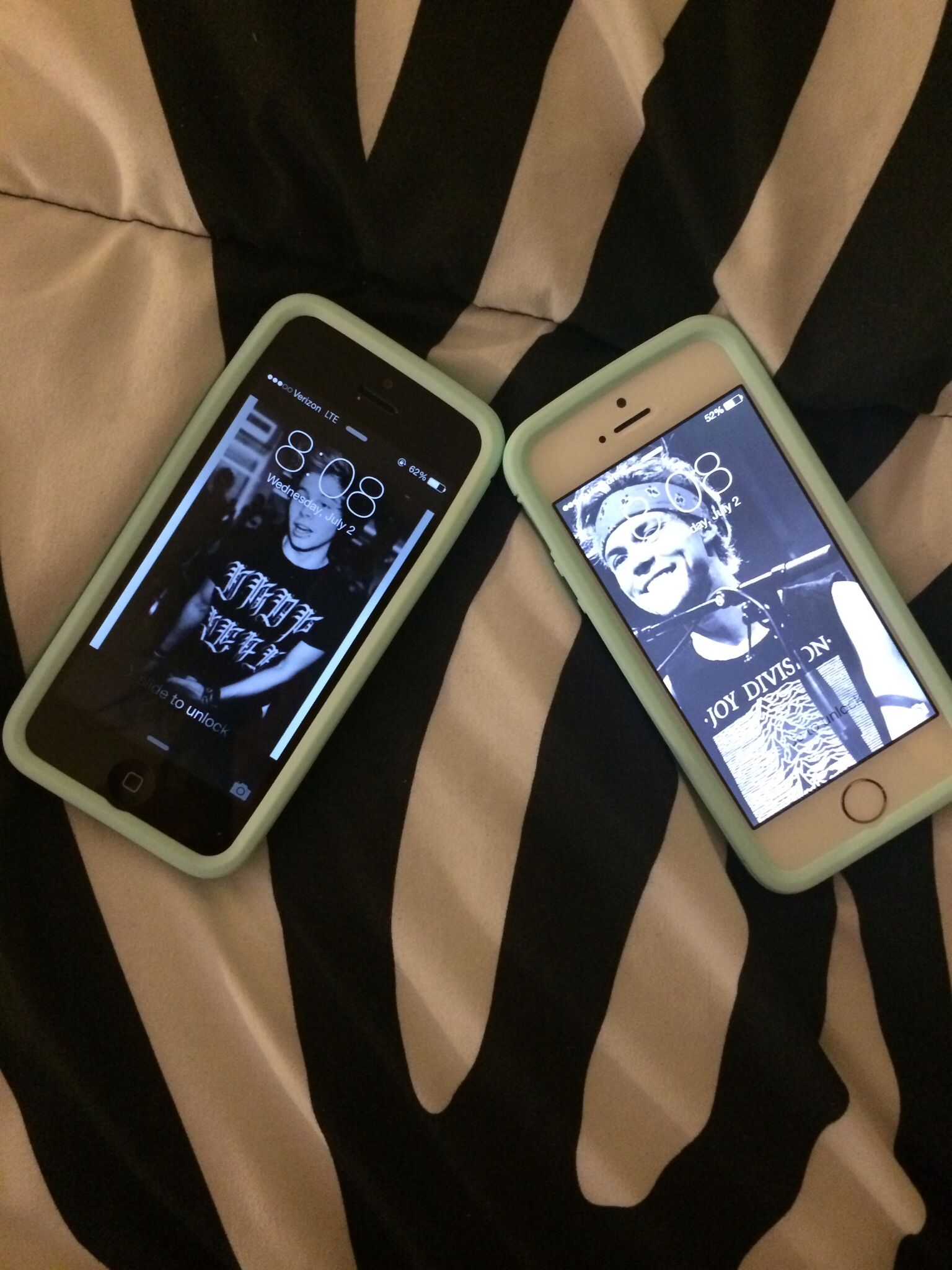 Me and my bestfriends matching cases and our baes ily Julie