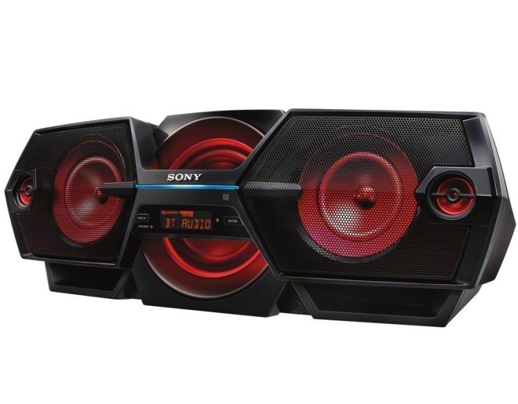 Sony Zsbtg900 Portable Nfc Bluetooth Wireless Boombox Speaker System Mobile Audio Boombox Sony
