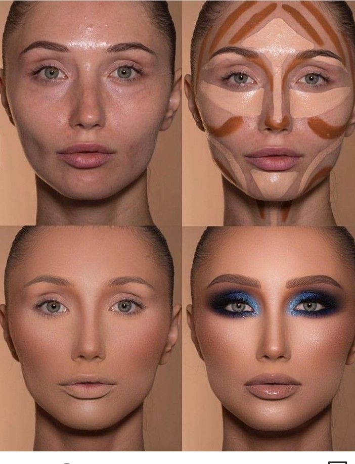 как красить лицо чтобы было худее фото отправить открытку сообщением