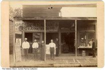 Gold Medal Restaurant And Second Hand Store, Muncie, Indiana, Ca. 1888