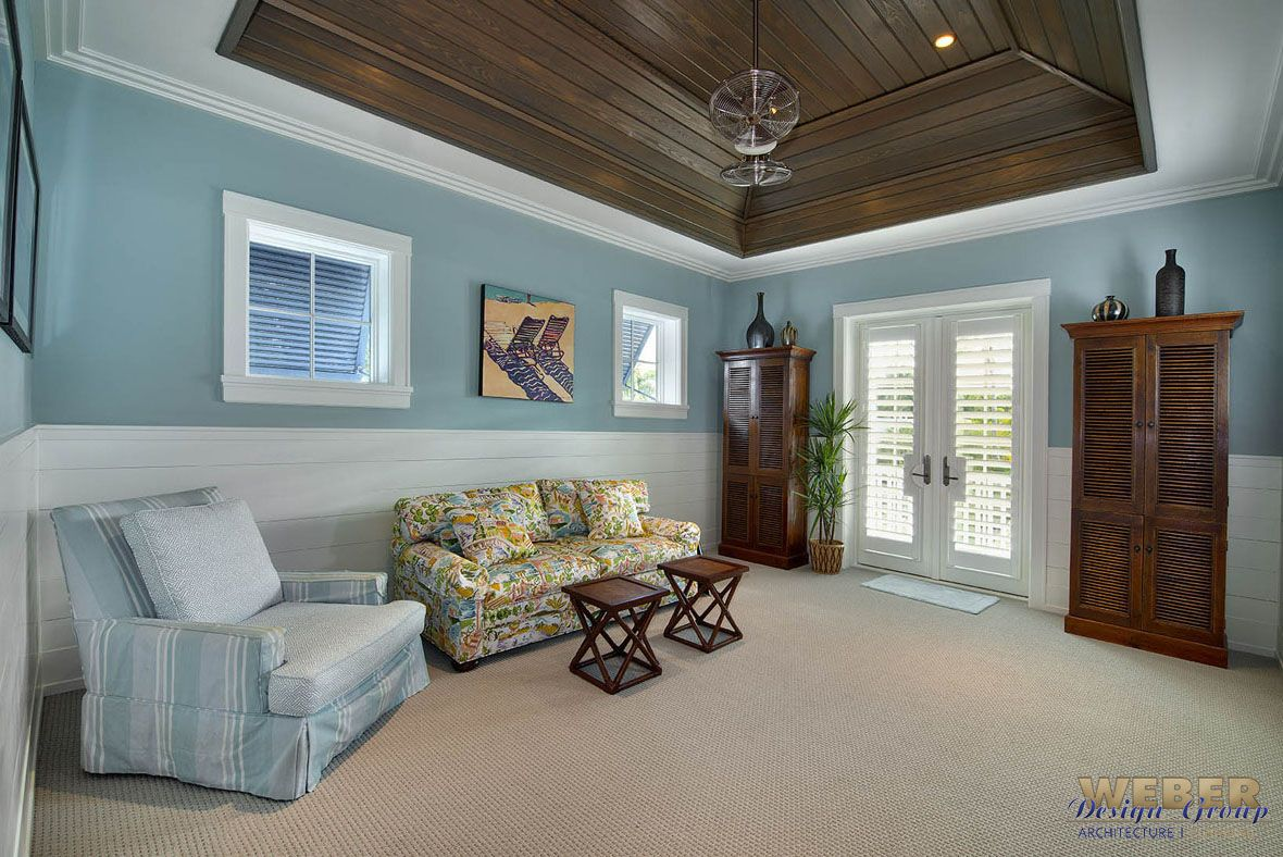 Beach house plan story coastal home floor with cabana also rh pinterest
