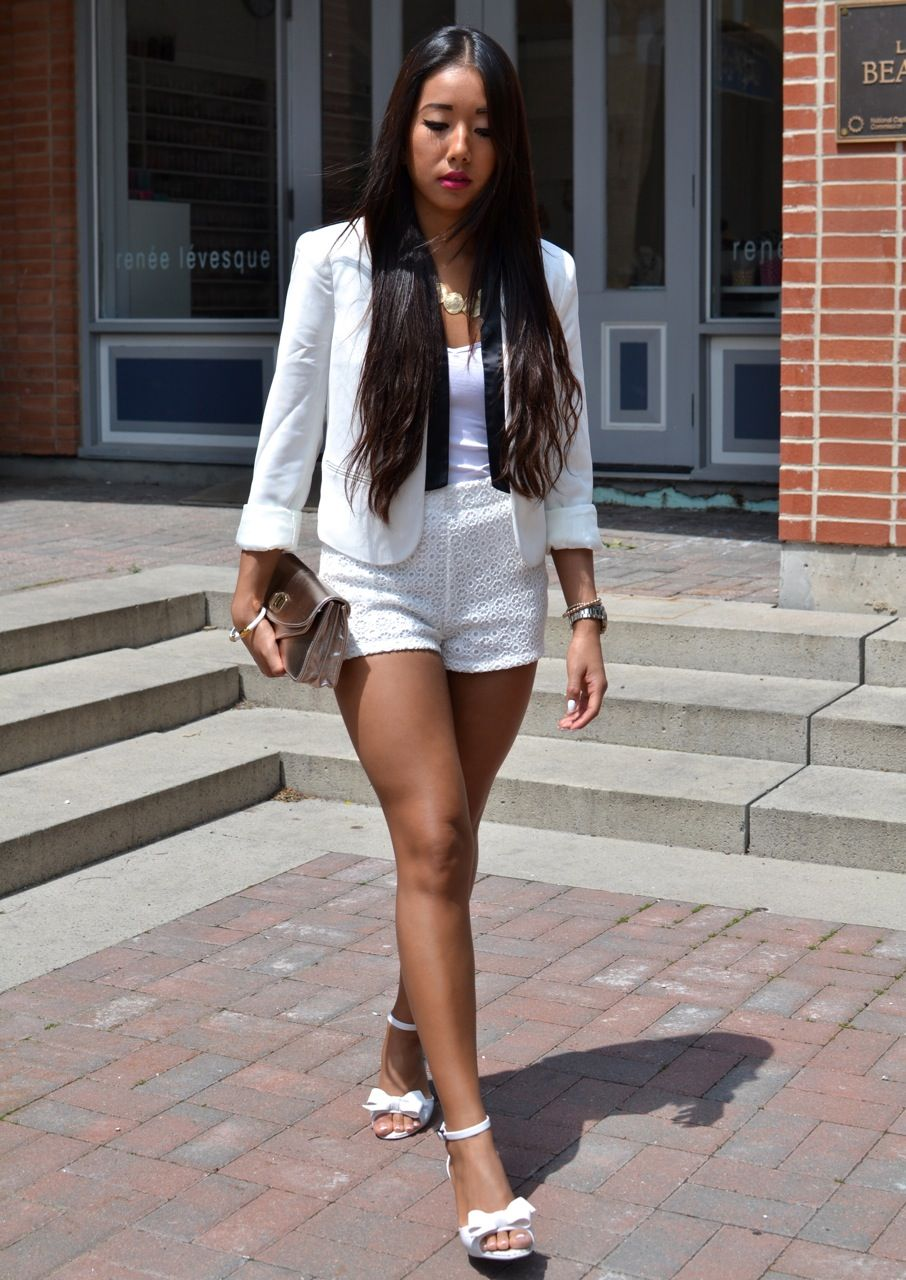 all white party outfits for women