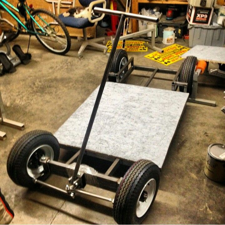 Begining Of A Pit Box Tool Cart