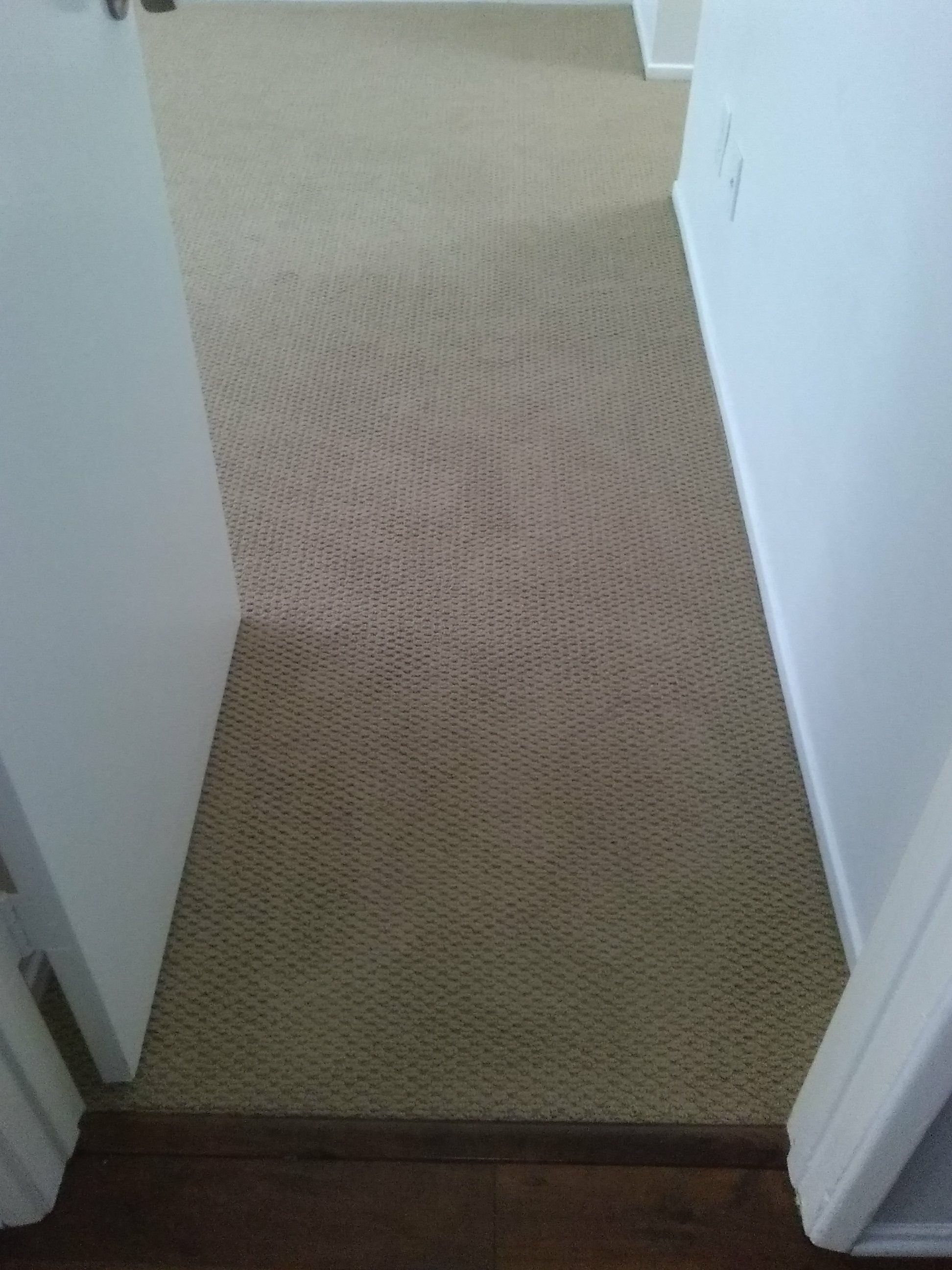 Check Out This Carpet Installation In Natural Wood Color We Have It In Stock Call Us Today Flooring Carpe Carpet Installation Floor Installation Homeowner
