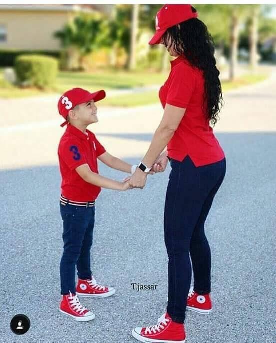 7256df5a9d07 Outfits en conjunto para mamá e hijo 2017 | mamá e hijo outfit ...