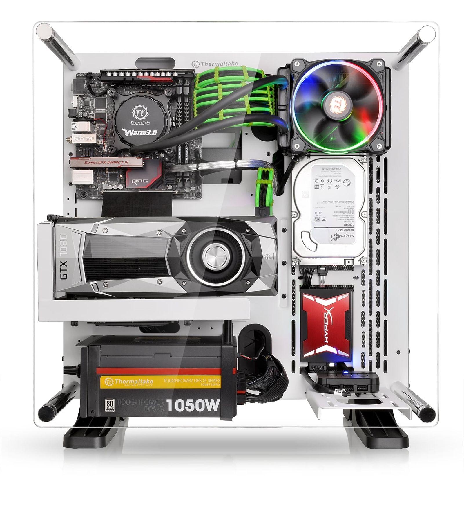 Thermaltake Core P3 Snow Edition 5 htpc build