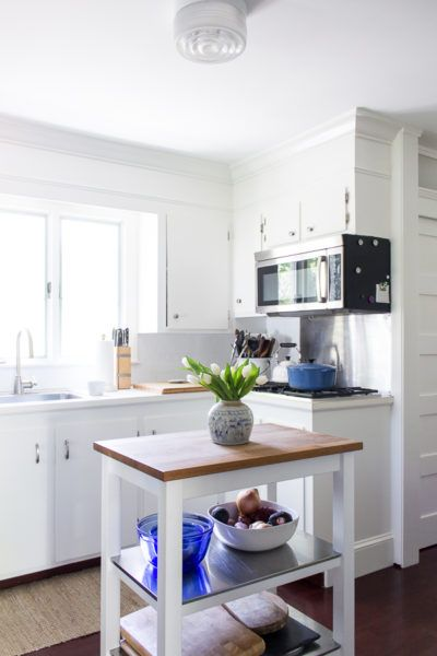 The Colors of Our Home White cabinets, Coastal paint colors and