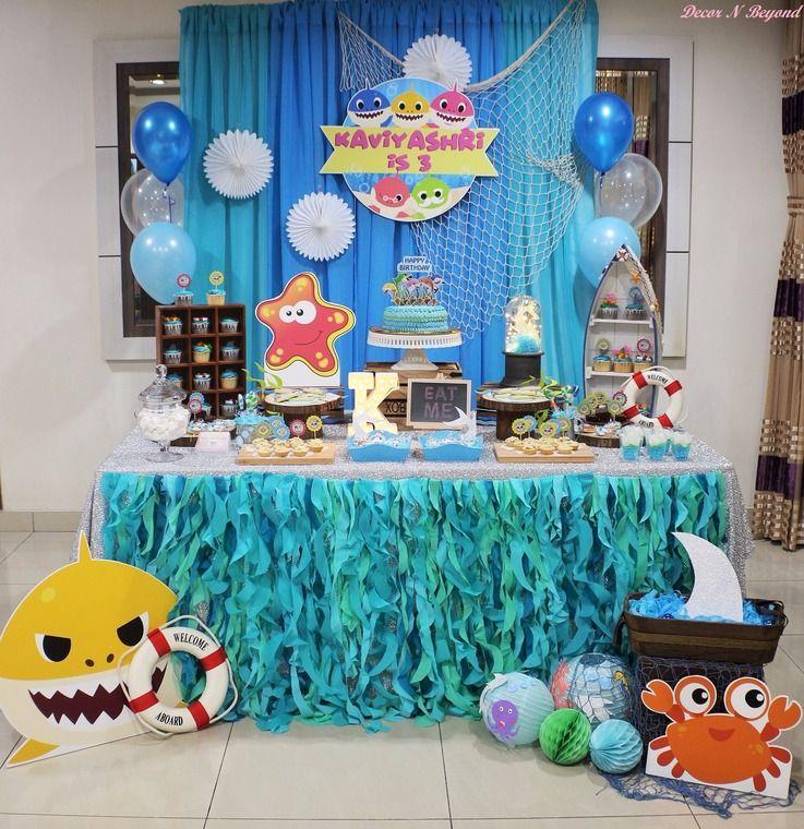 baby shark birthday party supplies