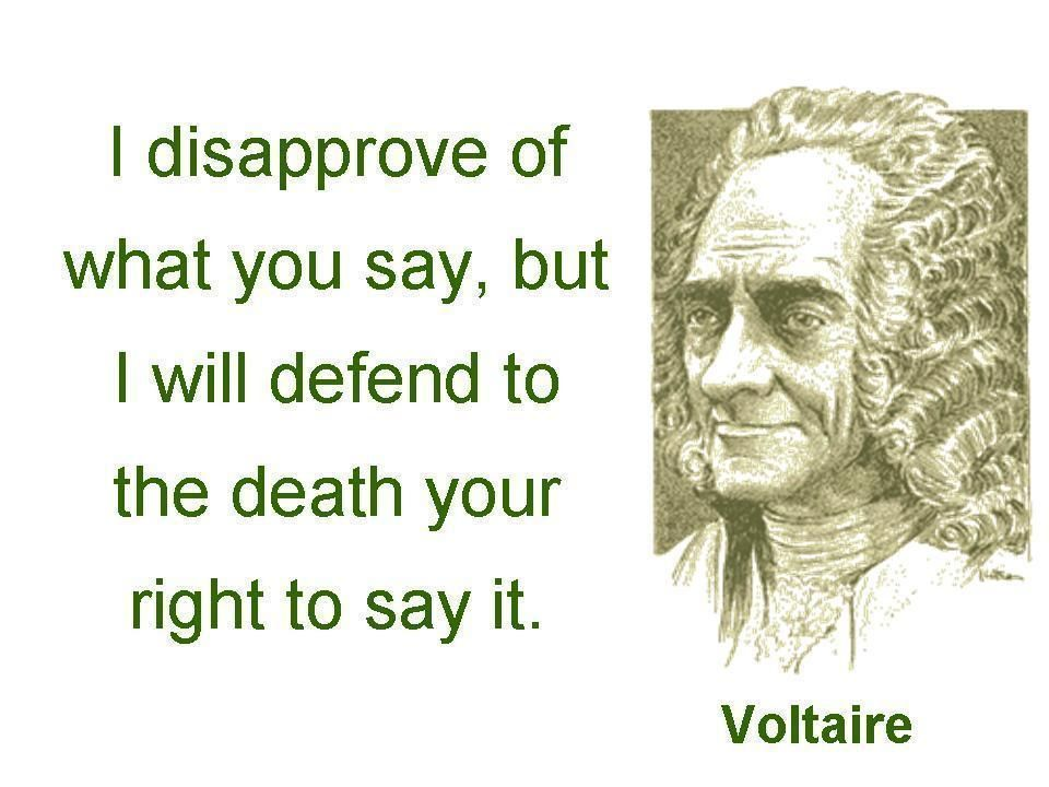 Should America allow its citizens the guaranteed right to freedom of speech?