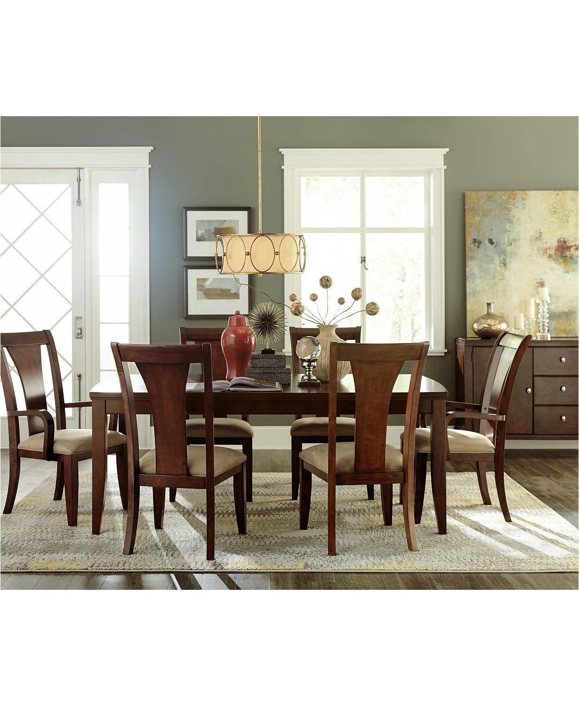 Metropolitan 588776 5-Piece Wooden Dining Set, 1 Table & 4 ...