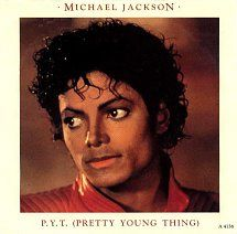 45cat - Michael Jackson - P. Y. T (Pretty Young Thing) / This Place Hotel - Epic - UK - A 4136