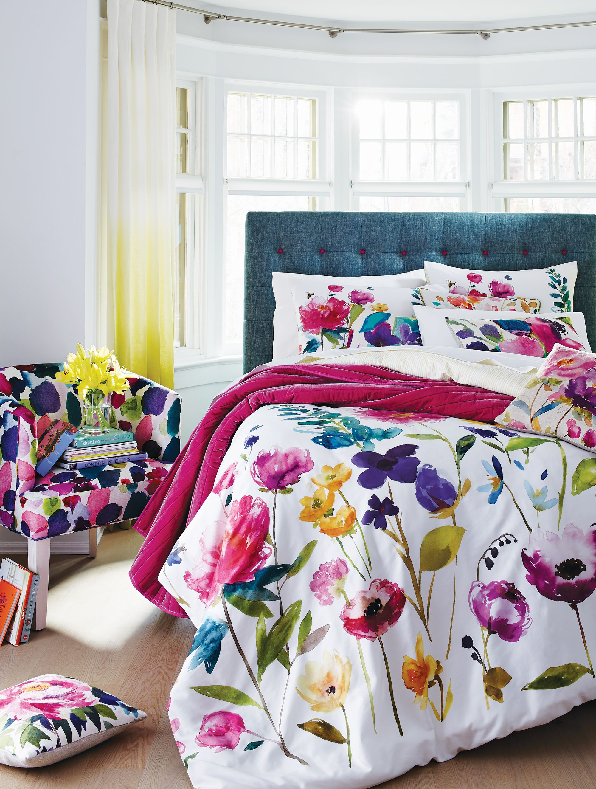 Adding Colour Into Your Life Lifts Spirits It Makes You Feel Good Fiona Douglas Bluebellgray