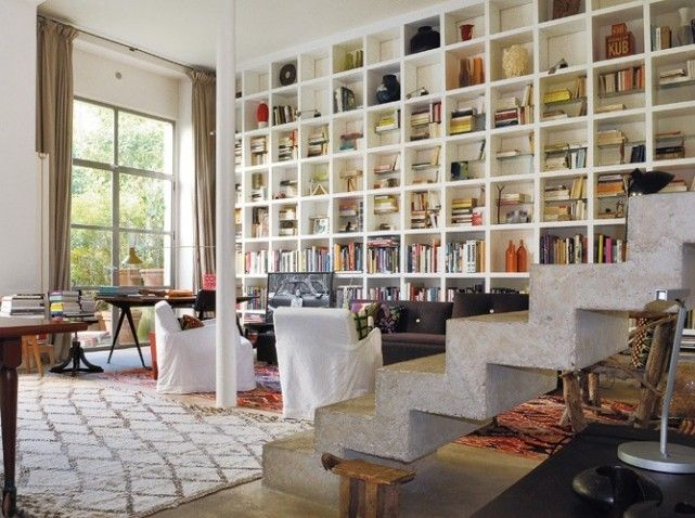la biblioth que est un meuble tr s pratique on peut tout. Black Bedroom Furniture Sets. Home Design Ideas