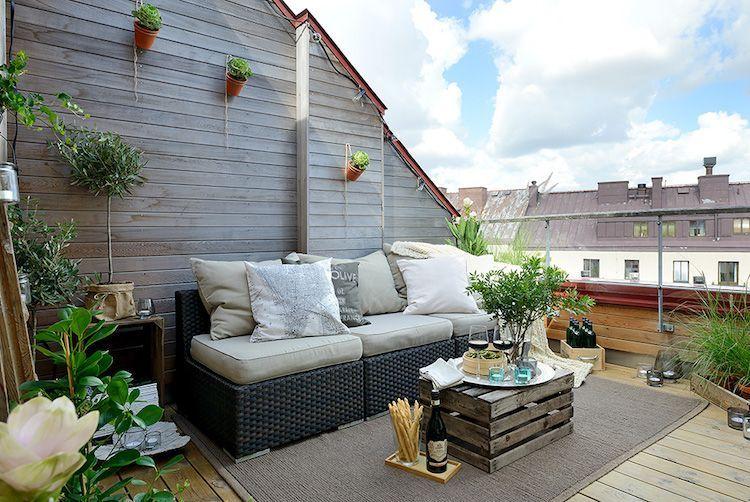 Terrasse aus holz gestalten gemutlichen ausenbereich  gemütliche Atmosphäre im Außenbereich durch Holz erzielen ...