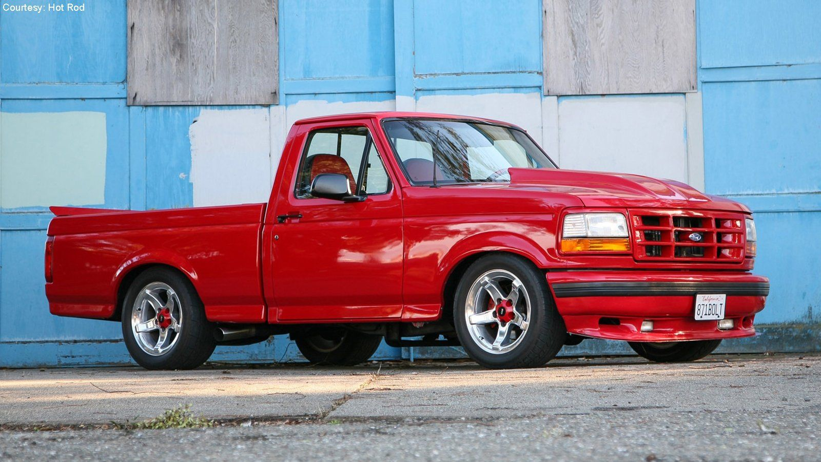 One Of A Kind 1993 Lightning With Windsor Power En 2020 Camiones Bajados Camionetas Ford Camioneta Ford F150