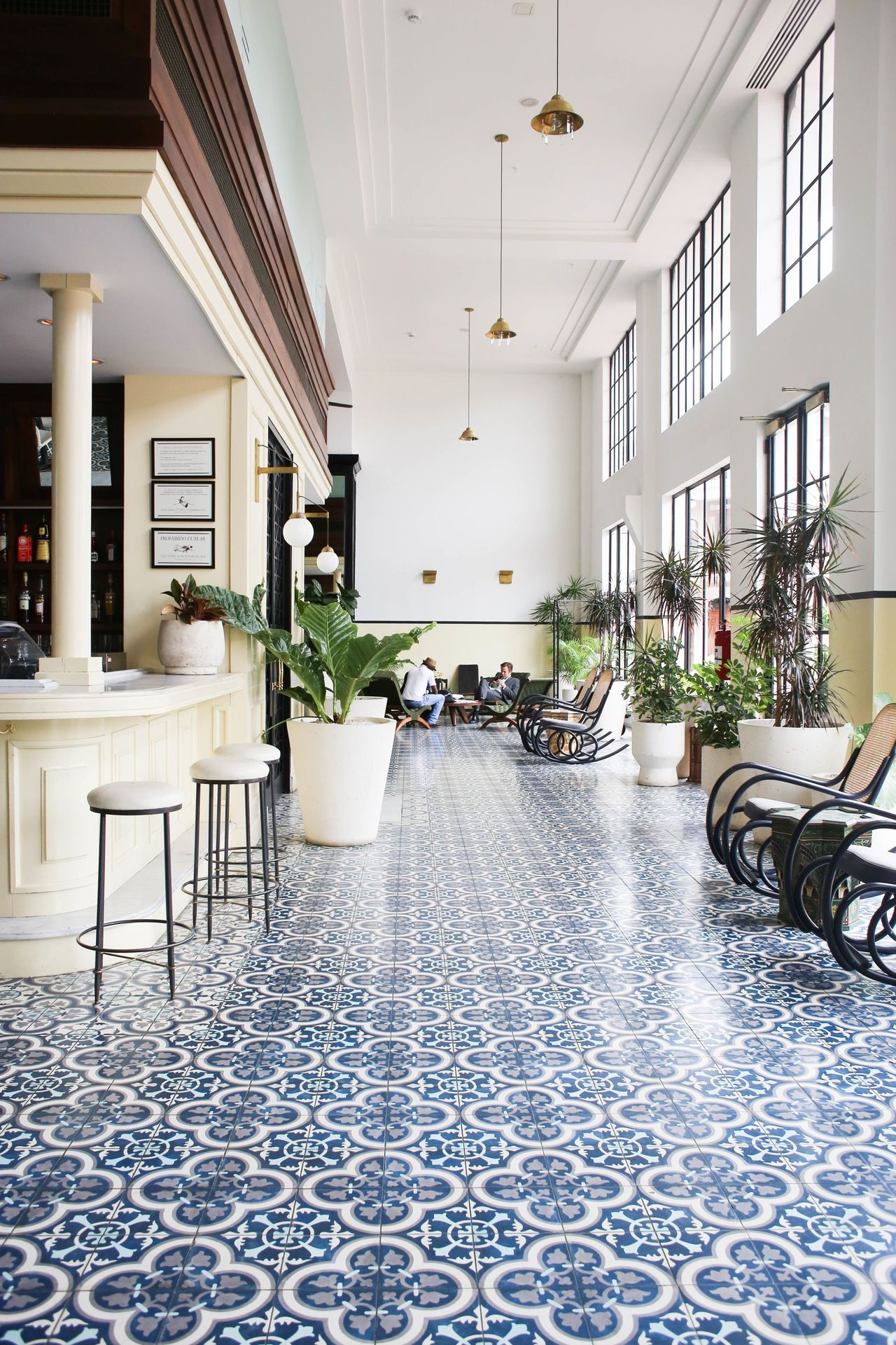 Old And New Mix In Panama City's American Trade Hotel