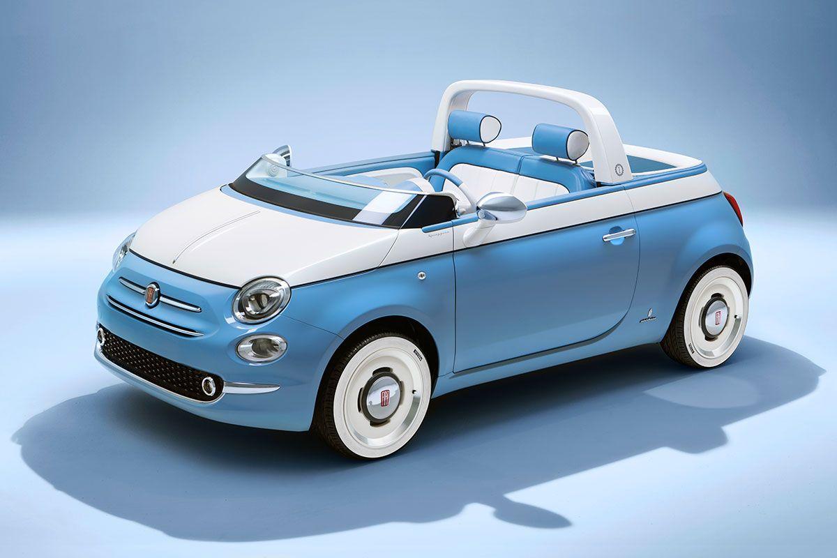 Fiat 500 Spiaggina By Garage Italia Cars Fiat 500 Bmw Classic