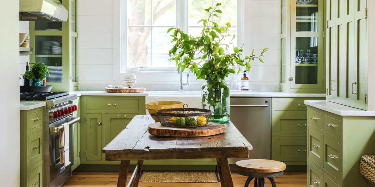 18 Refreshing Kitchen Color Ideas For A Not So Boring Space