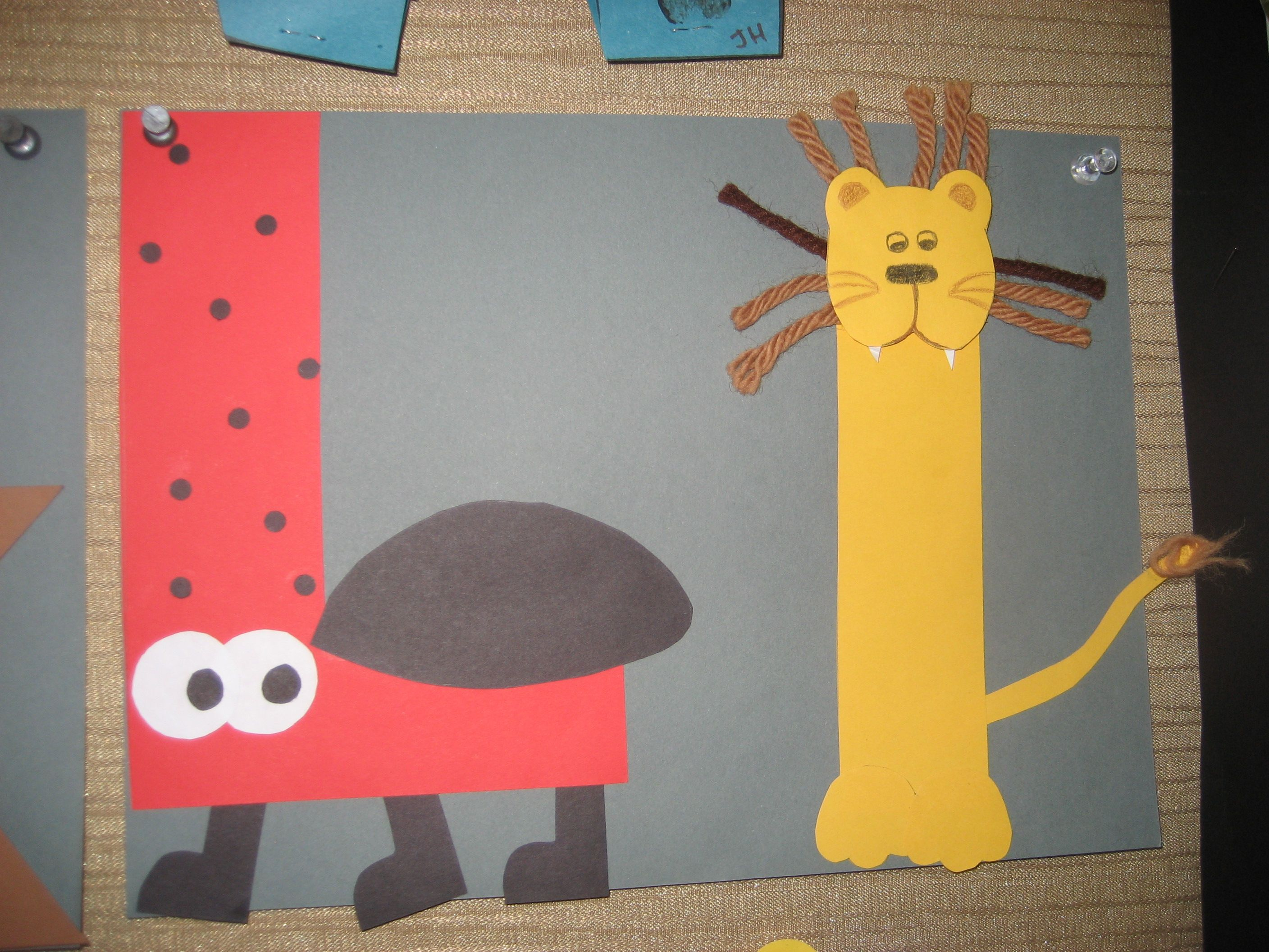 Ll letter of the week art project alphabet pinterest for Letter k crafts for toddlers
