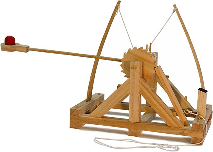 Amazon.com: Leonardo da Vinci Catapult Kit: Toys & Games ...