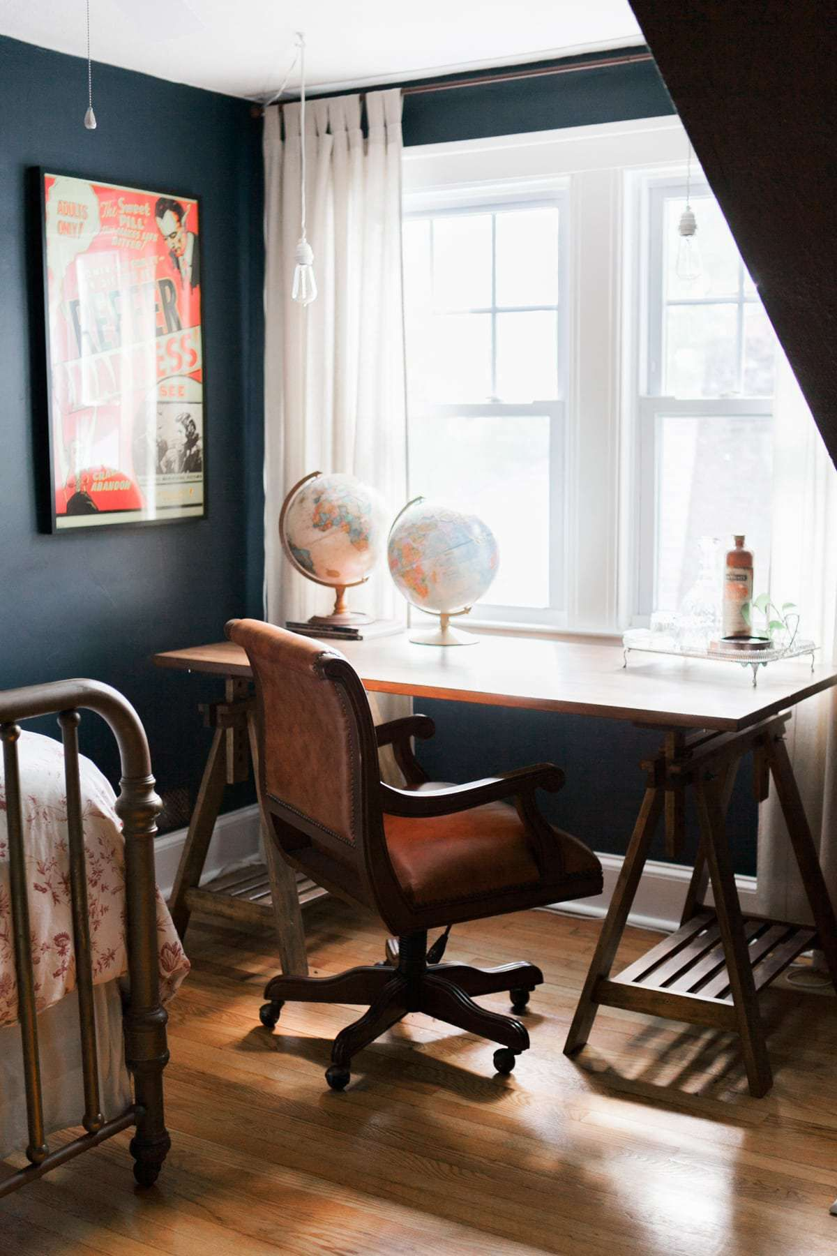 Eclectic Home Tour Summer 2017 Home Home Office Chairs Home Decor