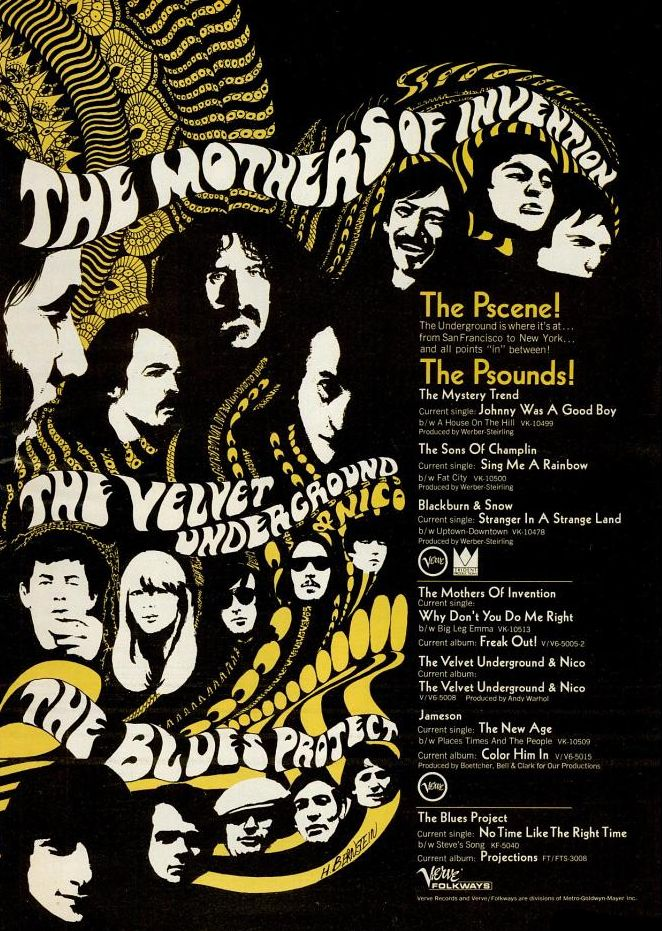 The Mothers Of Invention The Velvet Underground The Blues