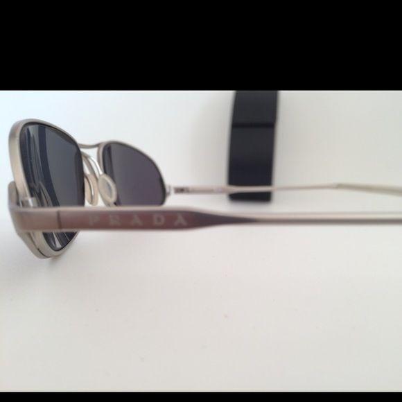 d542673e67b8 Prada mens womens metal frame- excellent condition