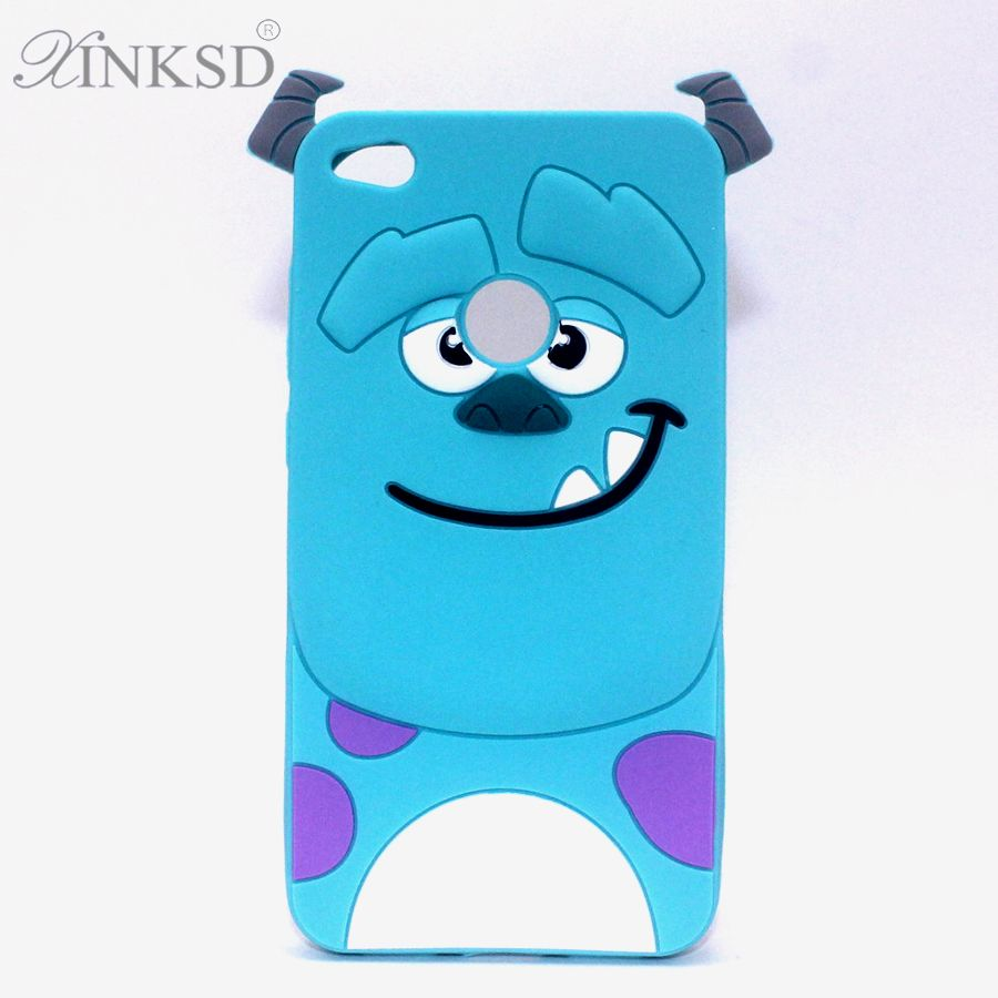 Click To Buy Hot 3d For Fundas Huawei P8 Lite 2017 Icecream Sulley Soft Silicon Cover Phone Case For Huawei P8lite 2017 Rubber B Soft Silicone Case Phone