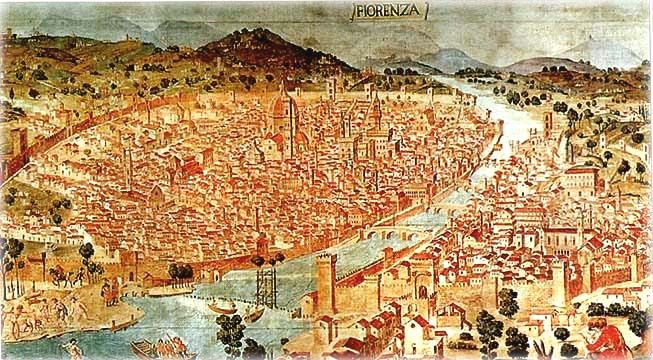 Italy Map 1500.Map Of Florence Italy In 1500 Europe Extravaganza Pinterest