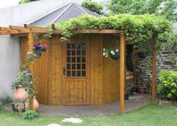 abri jardin angle abri de jardin bois