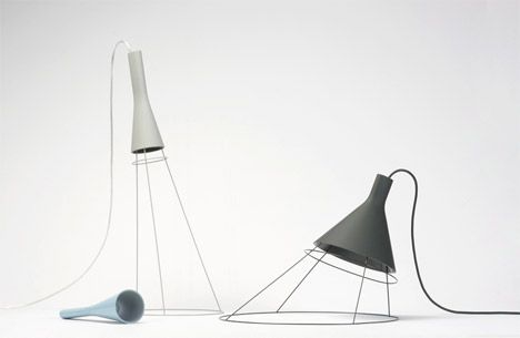 Zero G Lamps by SDESIGNUNIT // clever! #lightingdesign