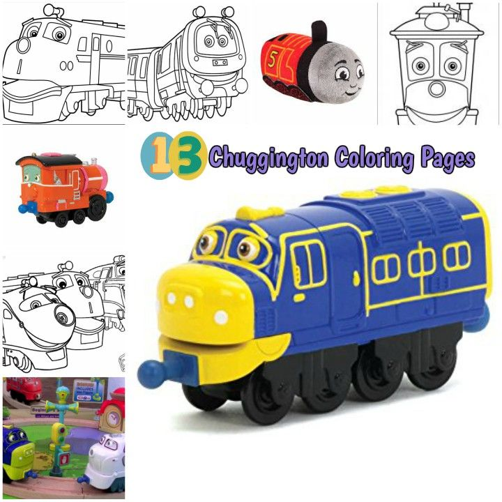 Chuggington Printable Coloring Pages For Kids