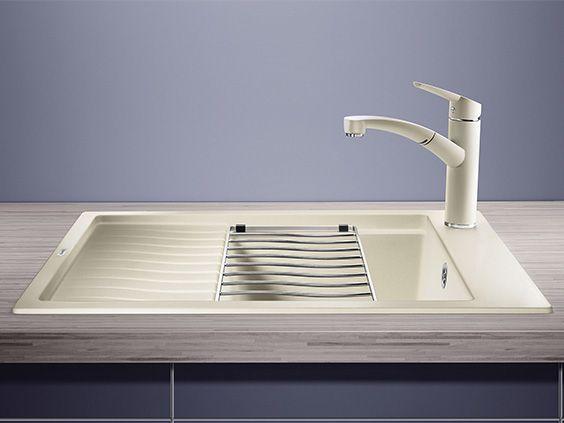 Küchenarmatur Anthrazit ~ Blanco elon 45 s kitchen sink blanco silgranit® sinks