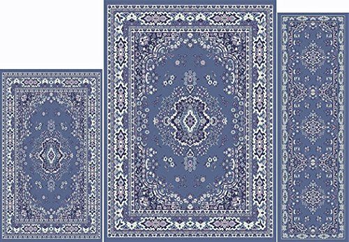 Home Dynamix Area Rugs Ariana Collection 3Piece Living Room Rug Set Ultra  Soft Super Durable Home