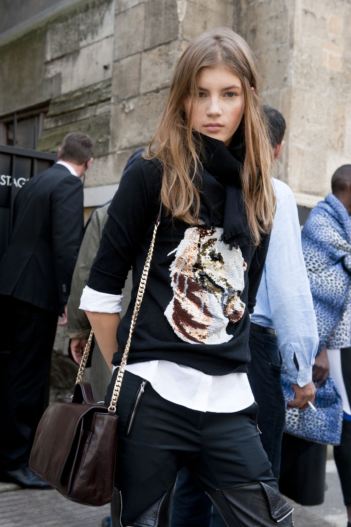 130 Incredible Model Street Style Photos | StyleCaster