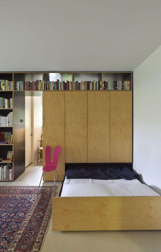 id e double dressing home id es deco am nagement petit. Black Bedroom Furniture Sets. Home Design Ideas