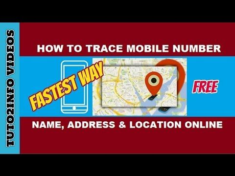 Fastest Way To Trace Name, Address and Current Location Of