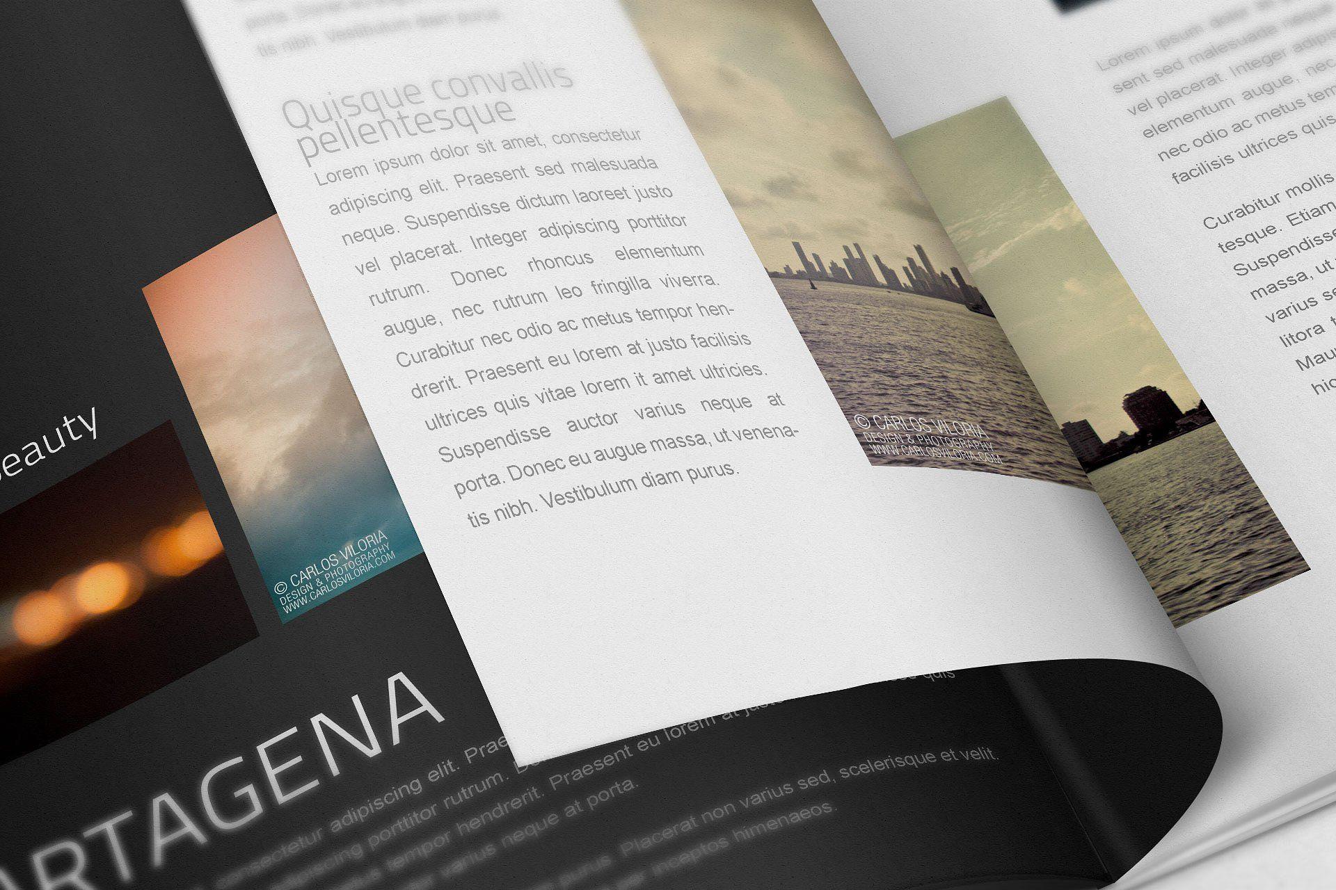 A4 Book Mockups Company Brochure Mockup Photos For Sale
