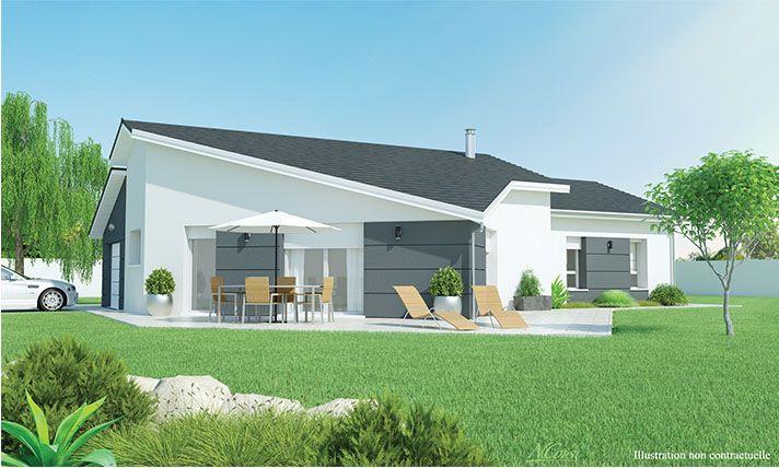contemplea_Cjpg 712 × 428 pixels Maison Pinterest Construction - plan de maison de 100m2 plein pied