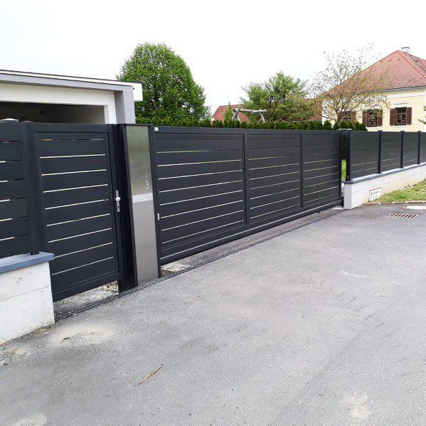 Top 60 Best Modern Fence Ideas