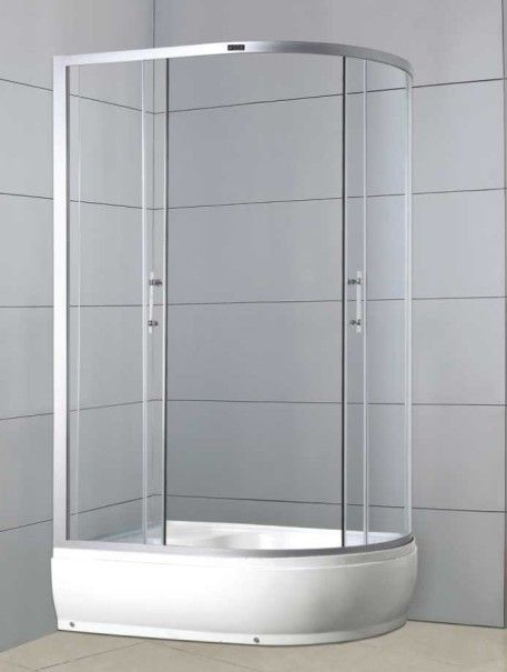 ABS board glass shower door shower enclosures | 3-Functions Shower ...