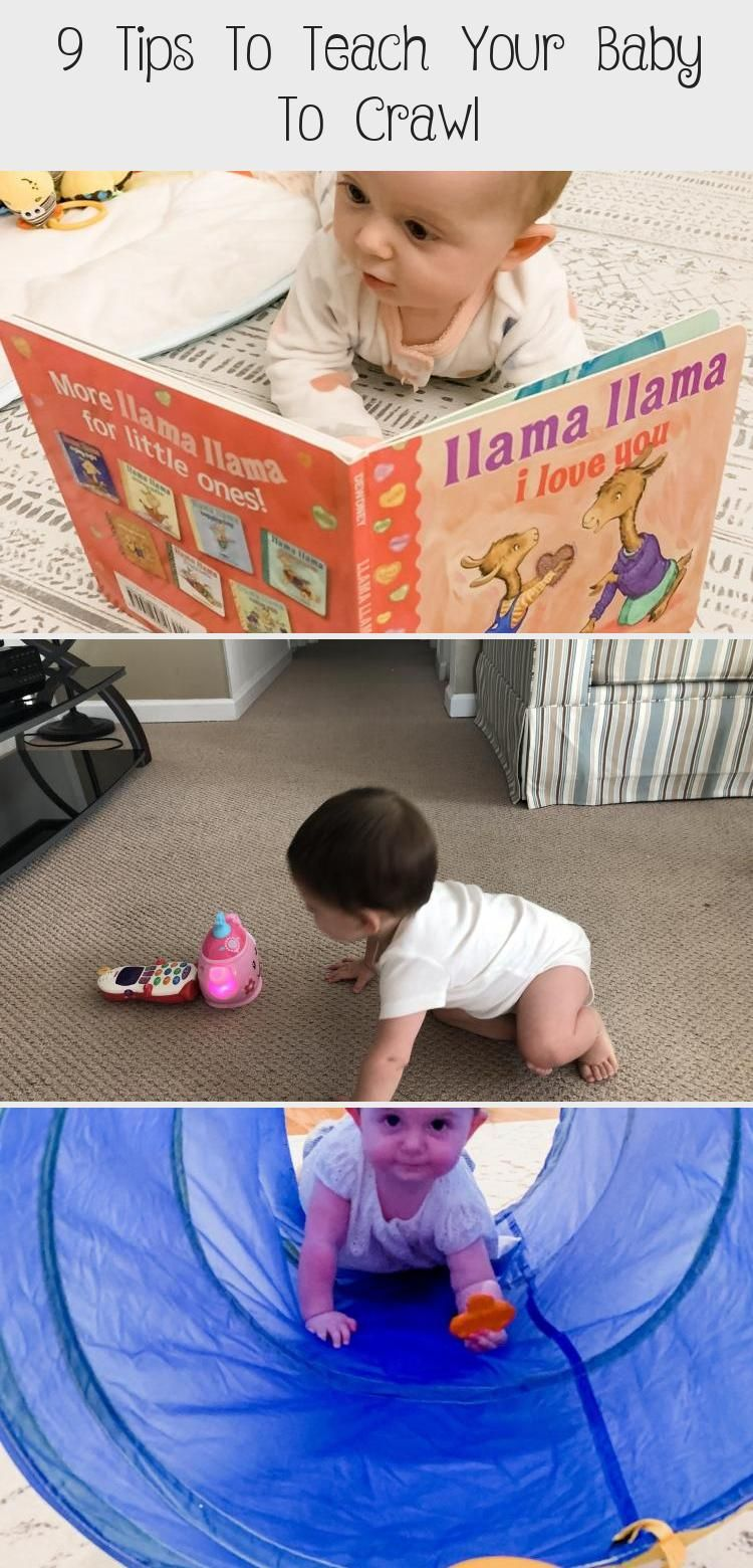9 Tips To Teach Your Baby To Crawl in 2020   Age ...
