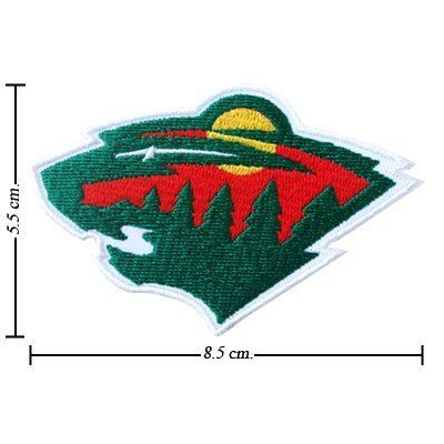 best service 8fcac bd9cf Minnesota Wild Logo I Embroidered Iron Patches by NHL.  1.98. You are  seeing Iron