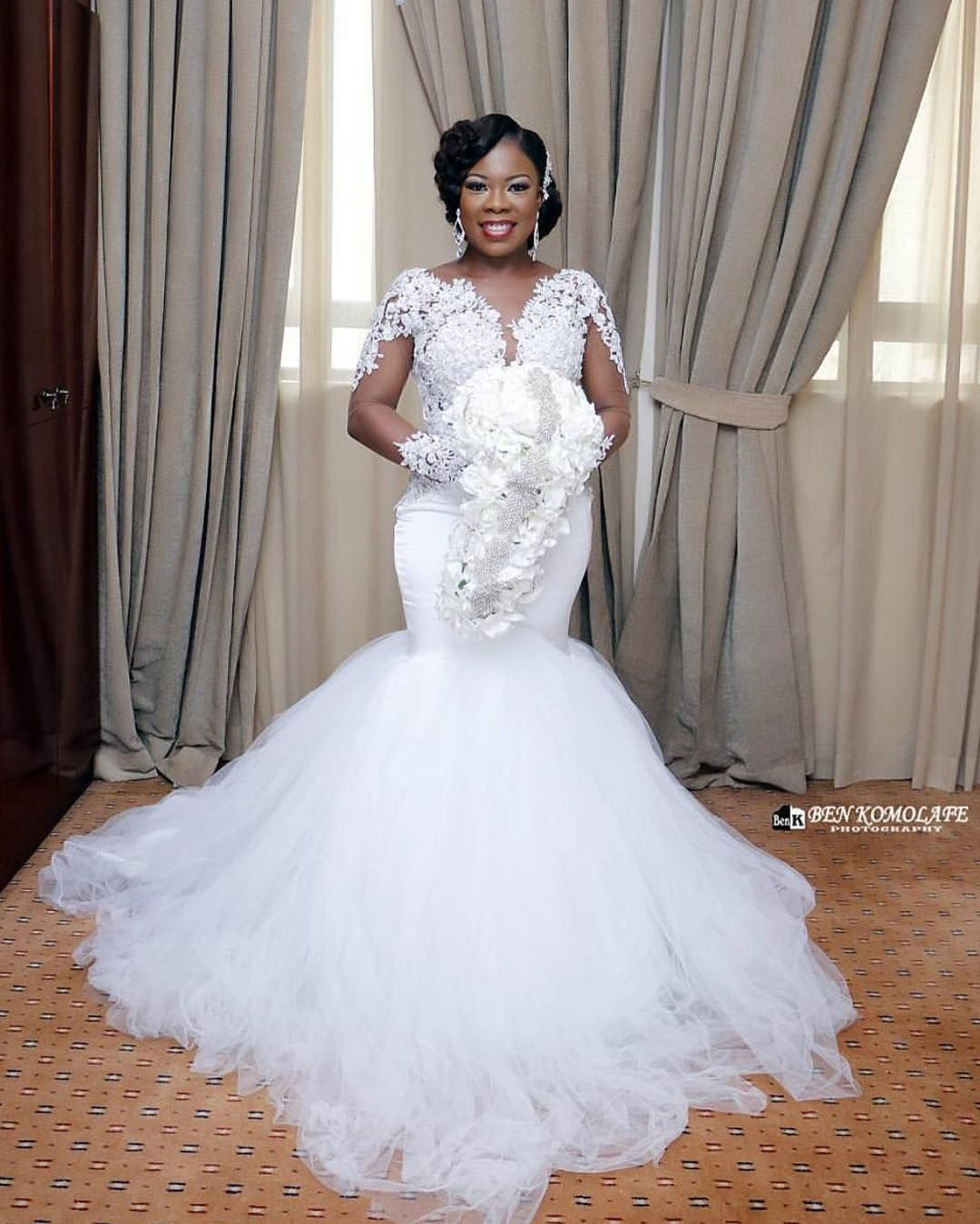 A Prettyperfect Regram From Benkomolafephotography Love The Bride S Weddingdress By