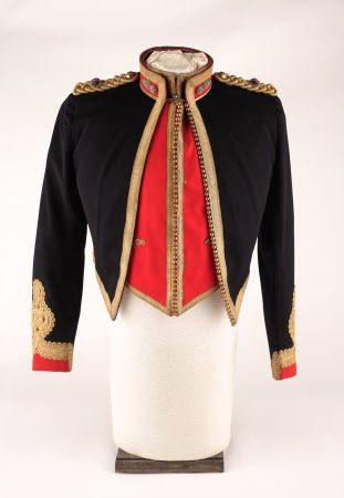 74f71743bbfe2 Royal Artillery officers mess jacket and waistcoat. 19th century ...