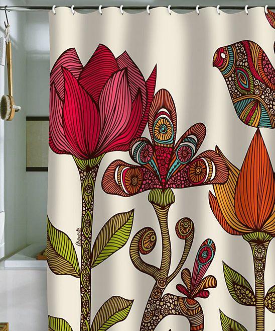 Deny Designs In The Garden Shower Curtain Garden Shower