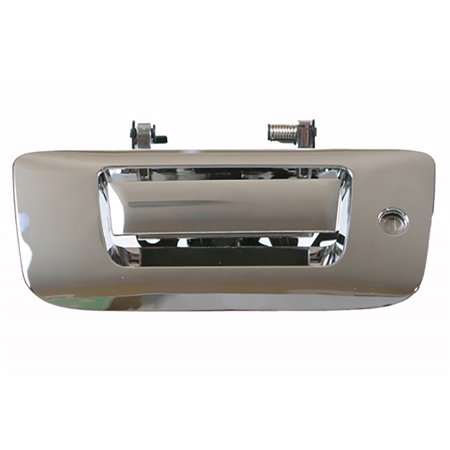 Pop And Lock Pl1350c Full Handle Manual Lock Replacement Chrome Silver Pop Lock Tailgating Replacement Handles