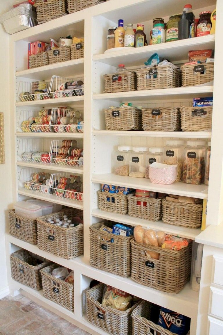45 creative kitchen cabinet organization ideas page 9 of on clever ideas for diy kitchen cabinet organization tips for organizers id=70563