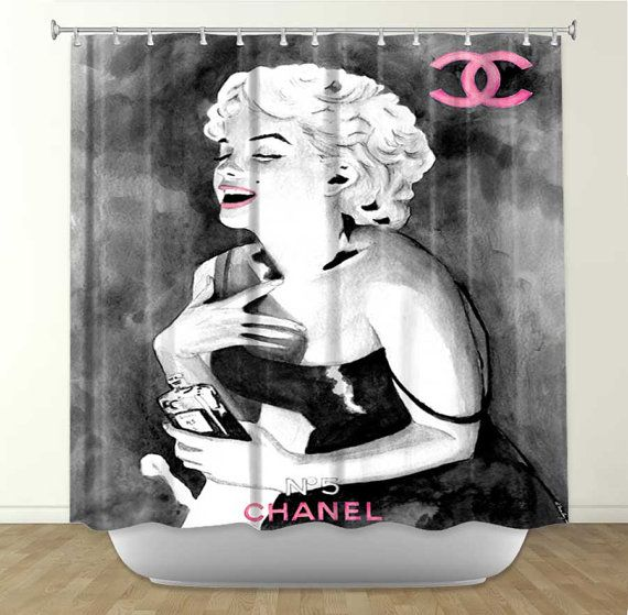 Marilyn Monroe Shower Curtain Marylyn Monroe Cortinas